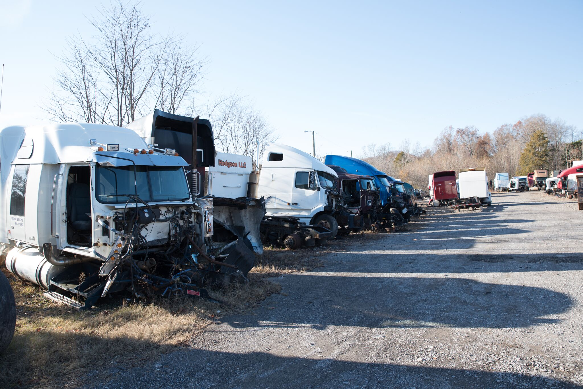 Used Tractor Parts Salvage Yards : John story knoxville truck parts and salvage yard